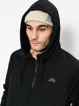 Bluza z kapturem Nike SB Hoodie Icon Hz HD (black/dark grey)