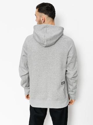 Bluza z kapturem Nike SB Hoodie Icon Hz HD (dk grey heather/black)