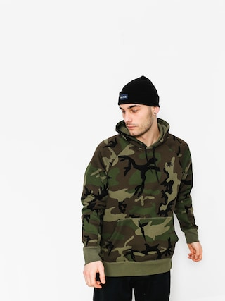 Bluza z kapturem Nike SB Hoodie Po Icon Erdl HD (medium olive/black)