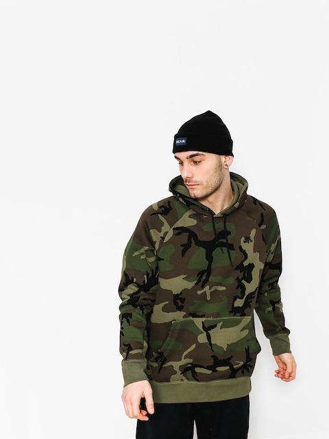 Bluza z kapturem Nike SB Hoodie Po Icon Erdl HD (medium olive/black)