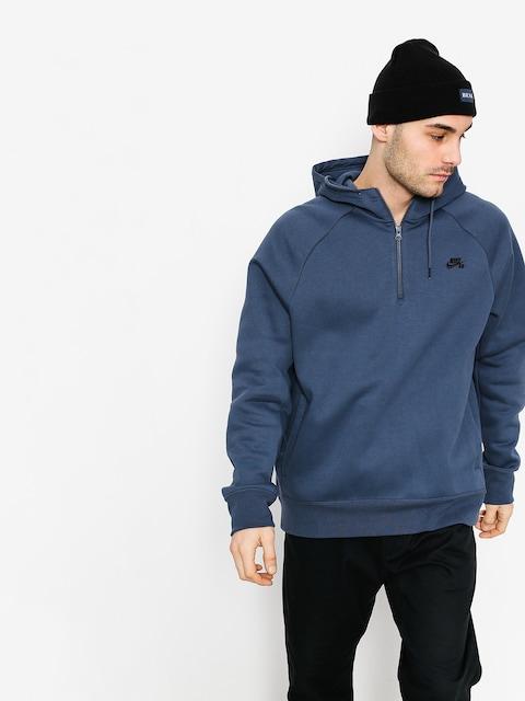 Bluza z kapturem Nike SB Hoodie Icon Hz HD (thunder blue/black)