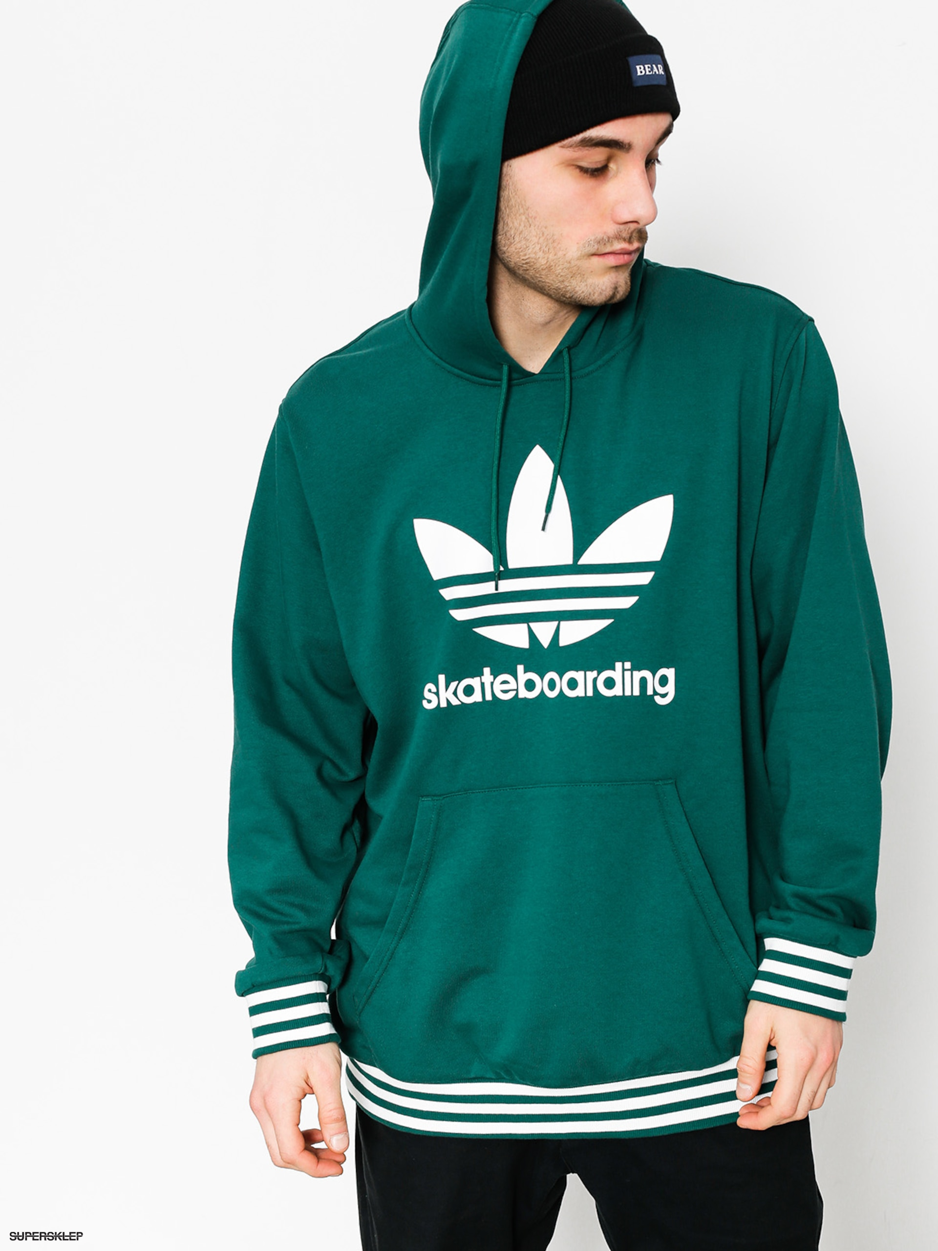Bluza z kapturem adidas Cma Uniform HD (cgreen/white)