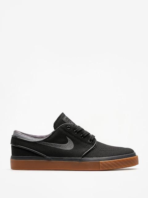Buty Nike SB Zoom Stefan Janoski Cnvs (black/anthracite gum med brown)