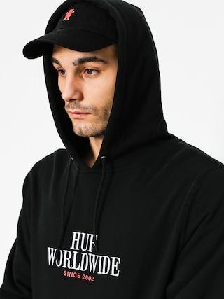 Bluza z kapturem HUF Serif Stack HD (black)