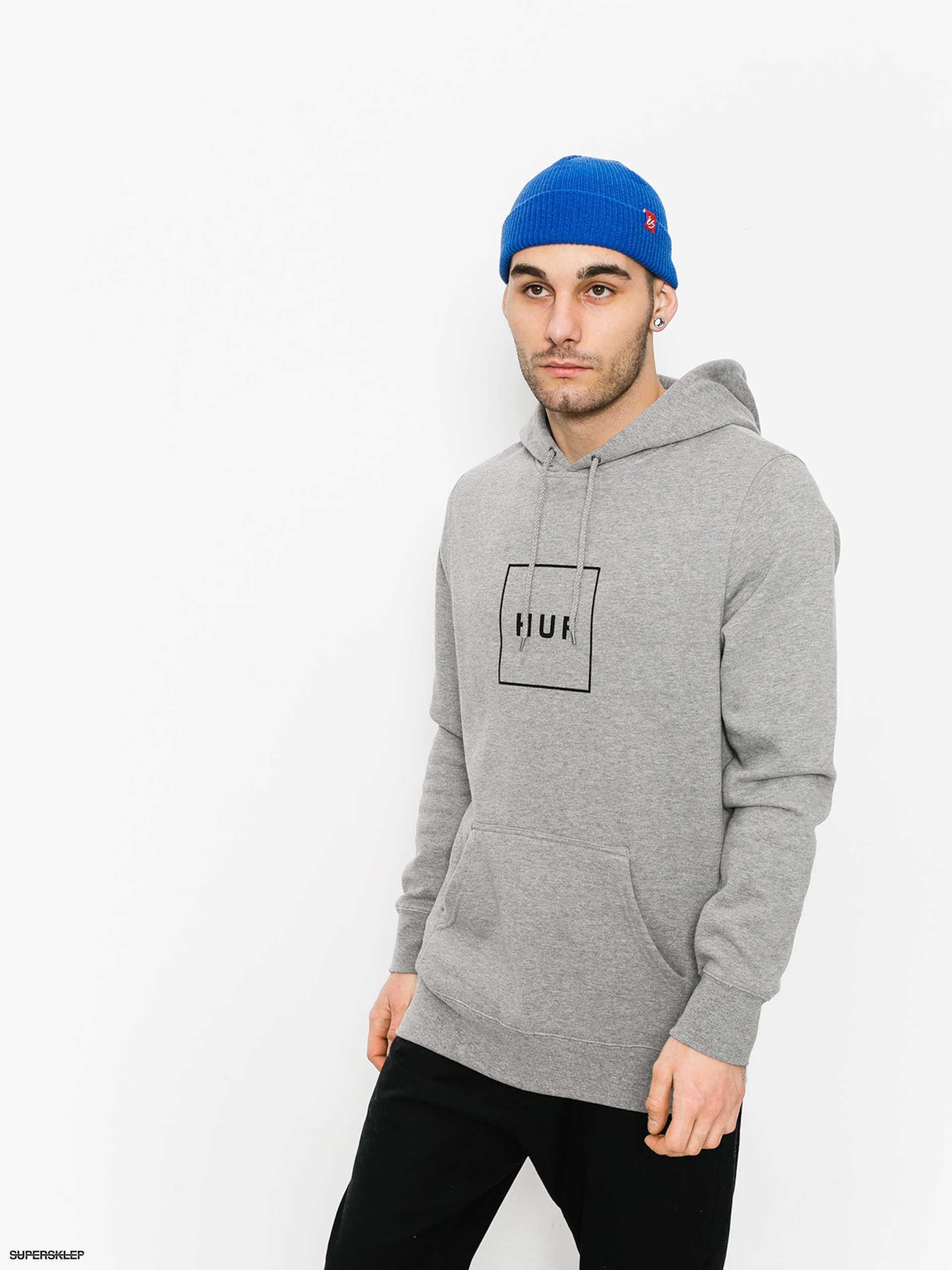 Bluza z kapturem HUF Box Logo HD