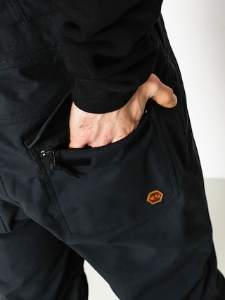 Spodnie snowboardowe ThirtyTwo Basement Bib (black)