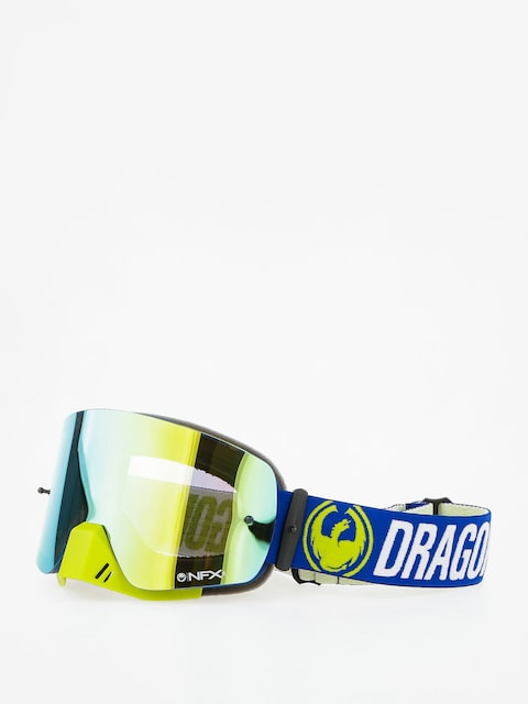 Gogle crossowe Dragon NFXs (flash blue/smoked gold/clear)