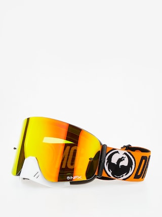 Gogle crossowe Dragon NFX (flash orange/yellow red ion/clear)