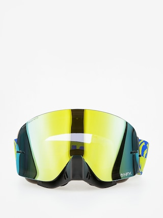 Gogle crossowe Dragon NFX (break highvis/smoke gold cle)