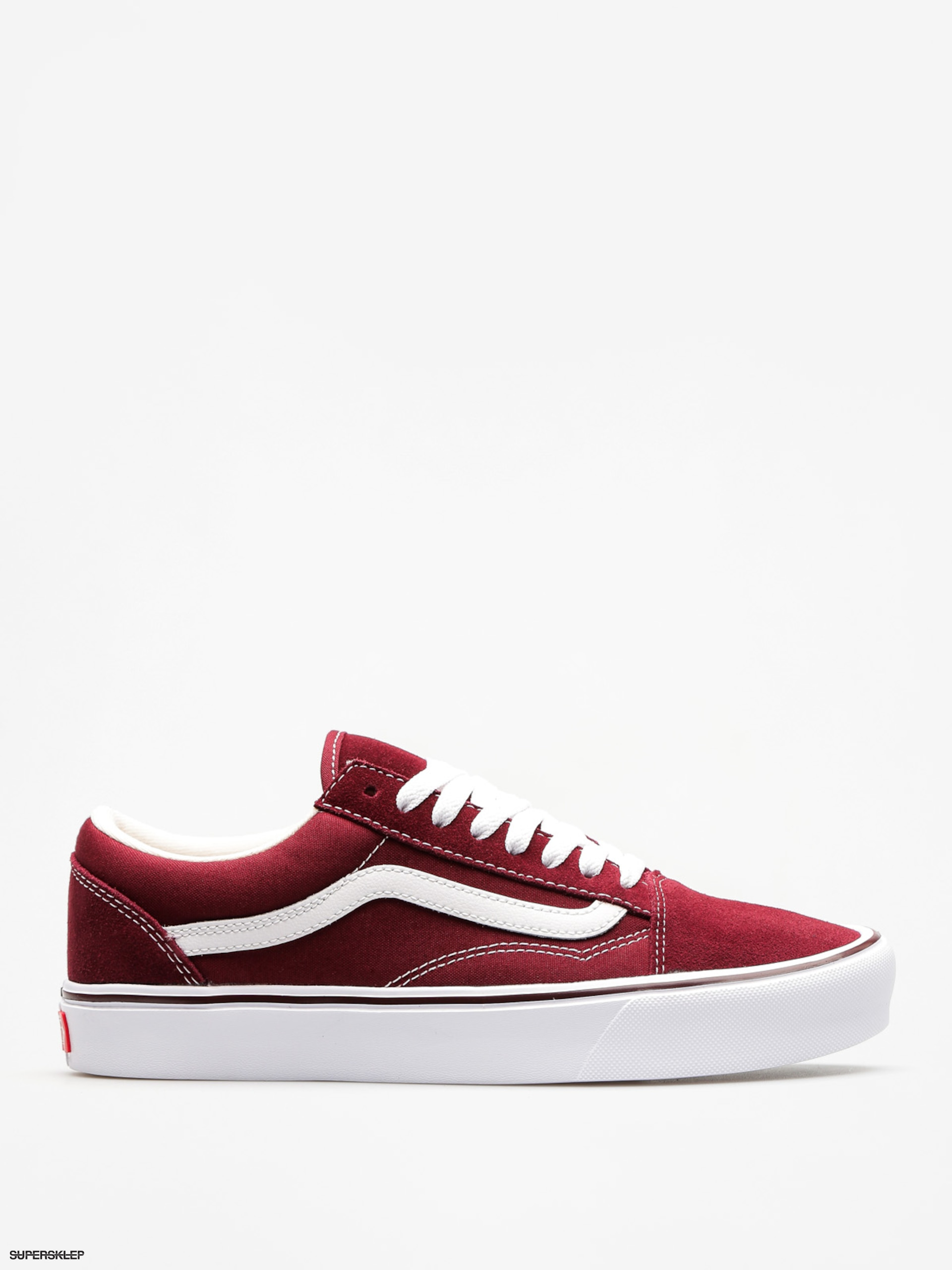 Buty Vans Old Skool Lite (suede/canvas/port/royale/true/white)