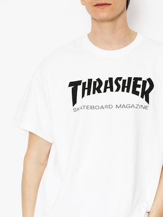 T-shirt Thrasher Skate Mag (white)