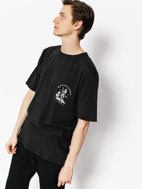 T-shirt Quiksilver Curve Love (tarmac)