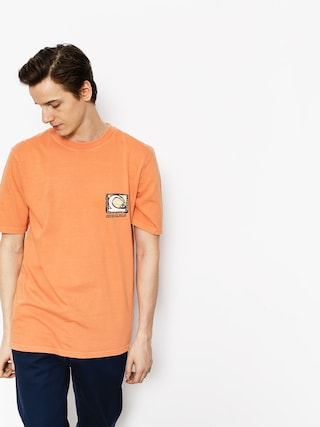 T-shirt Quiksilver Durable Dens Way (cadmium orange)