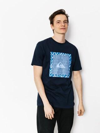 T-shirt Quiksilver Classic Nano Spano (navy blazer)