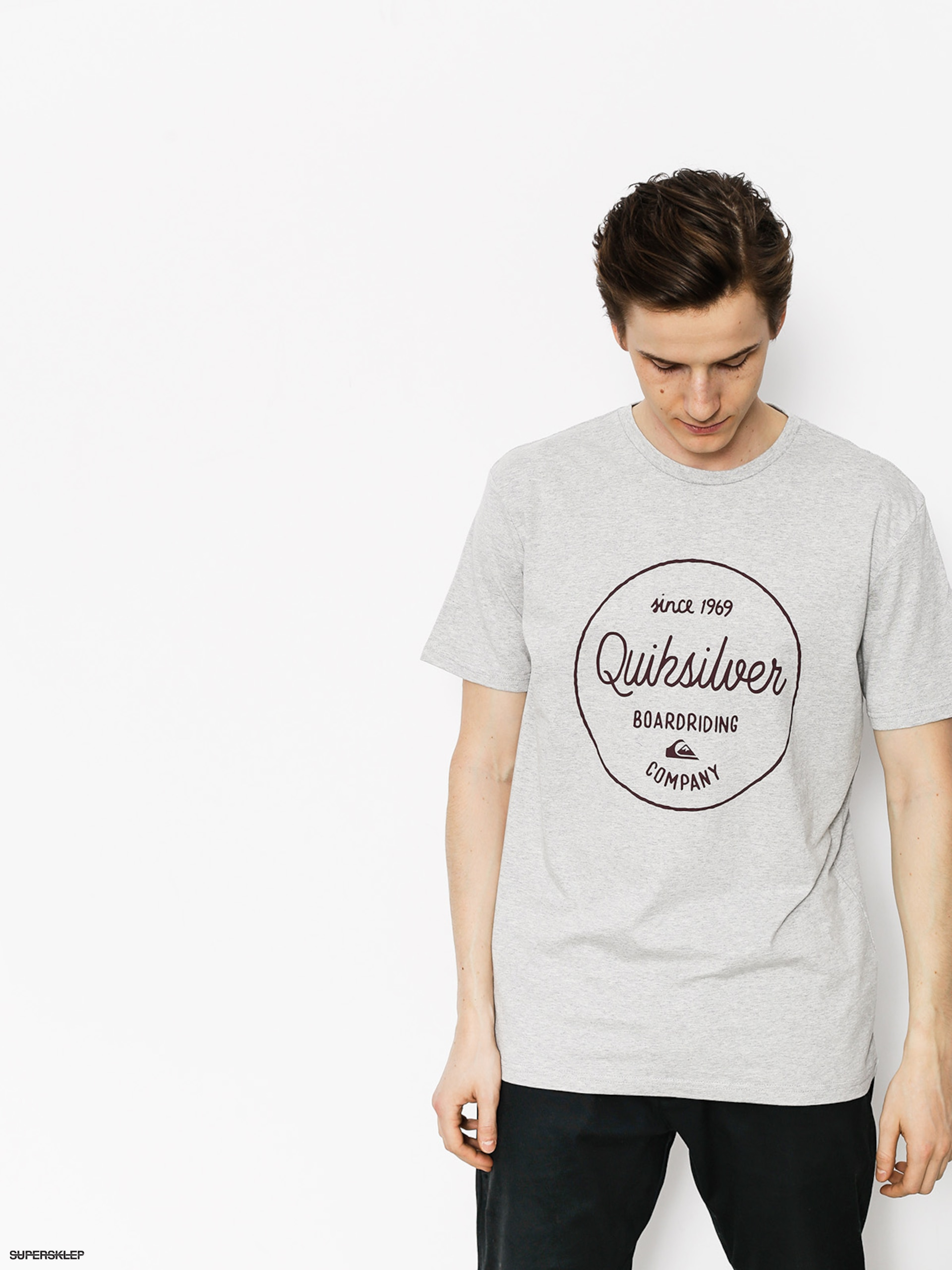 T-shirt Quiksilver Classic Morning Slides
