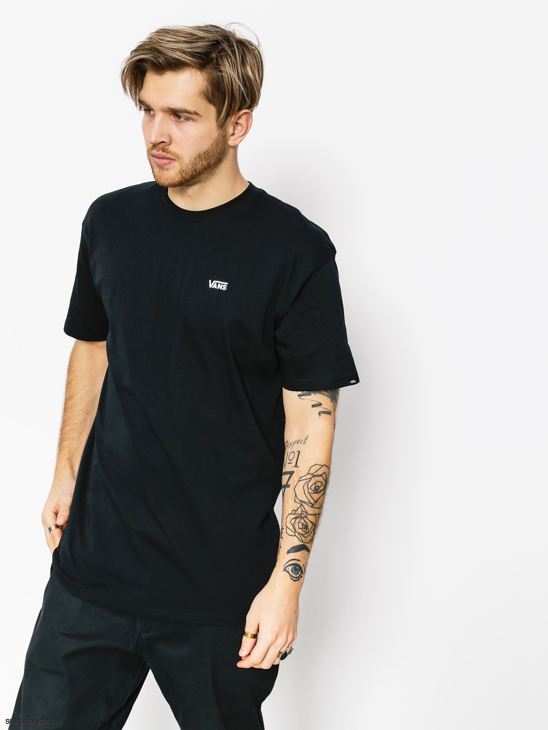 T-shirt Vans Left Chest Logo