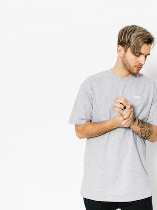 T-shirt Vans Left Chest Logo (athletic/heather)