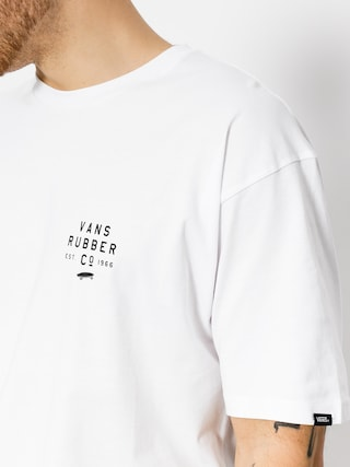 T-shirt Vans Stacked Rubber (white)