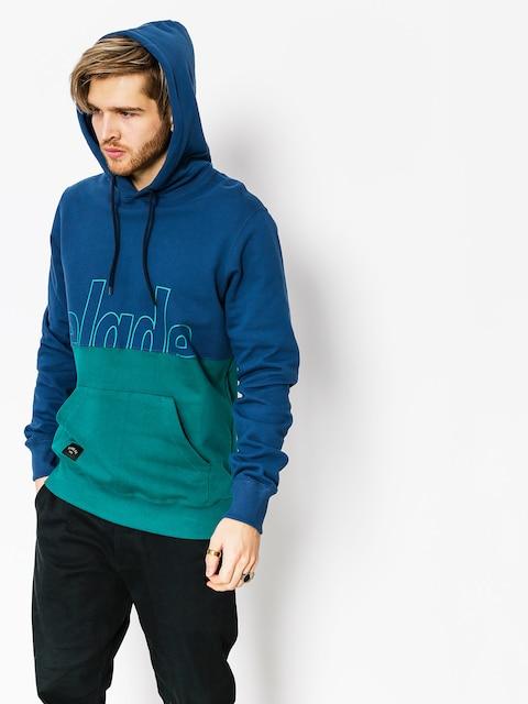 Bluza z kapturem Elade Two Tone HD (blue/ocean green)