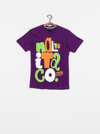 T-Shirt Malita Cut (violet)