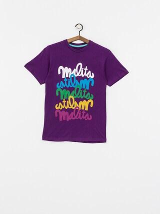 Koszulka Malita Multitag (viol)