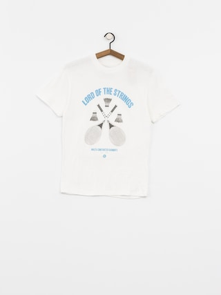 Koszulka Malita Badminton (white)
