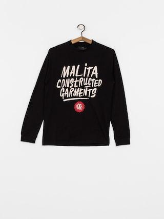 Longsleeve Malita Constructed Brush (black)