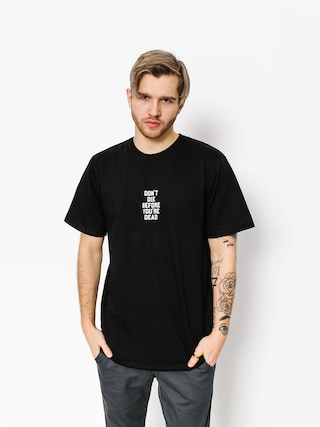 T-shirt Diamante Wear Don't Die (black)