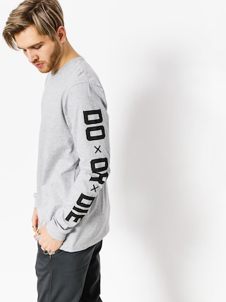 Longsleeve Diamante Wear Do Or Die (grey)