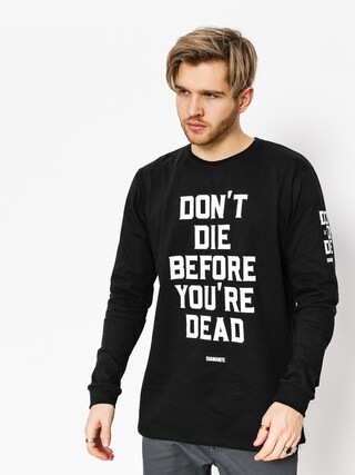 Longsleeve Diamante Wear Don't Die (black)
