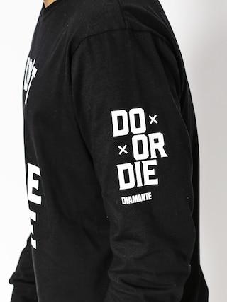 Longsleeve Diamante Wear Don't Die (black)
