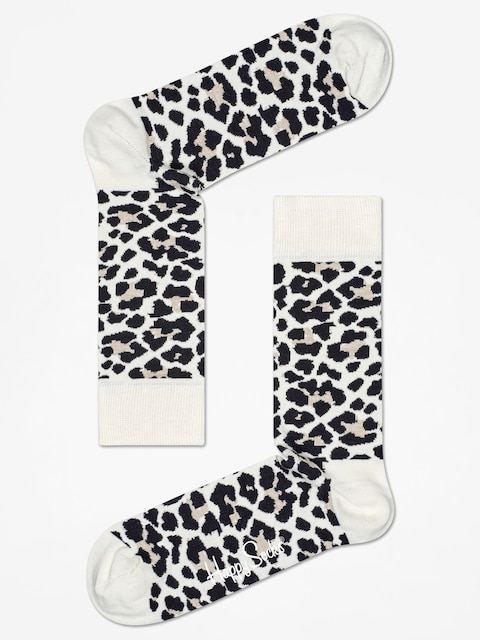 Skarpetki Happy Socks Leopard (sand/black)