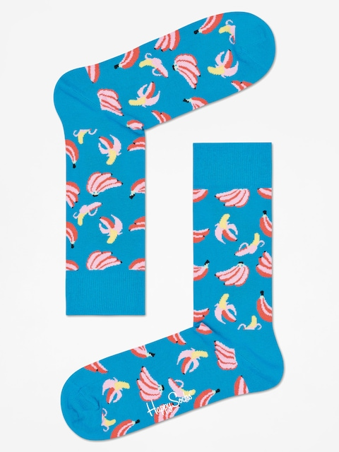Skarpetki Happy Socks Banana (ocean blue/pink)