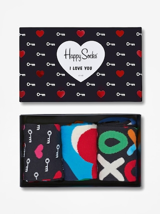 Skarpetki Happy Socks Giftbox 3pk (multicolor)