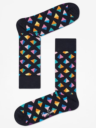 Skarpetki Happy Socks Pyramid (black/multi)