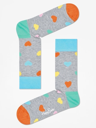 Skarpetki Happy Socks Heart (grey/multi)