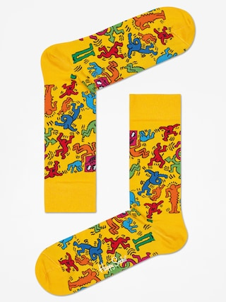 Skarpetki Happy Socks Giftbox 3pk X Keith Haring (multicolor)