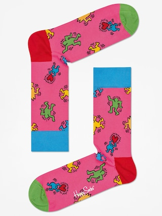 Skarpetki Happy Socks Giftbox 3pk X Keith Haring (multicolor)