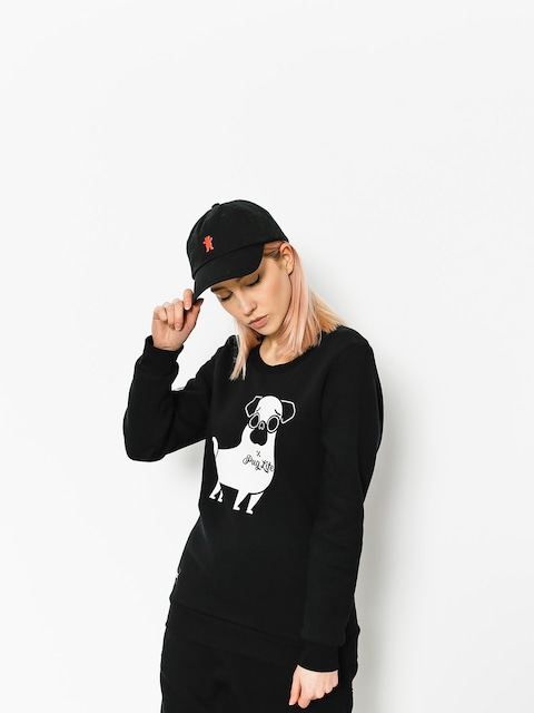 Bluza Diamante Wear Pug Life Wmn (black)