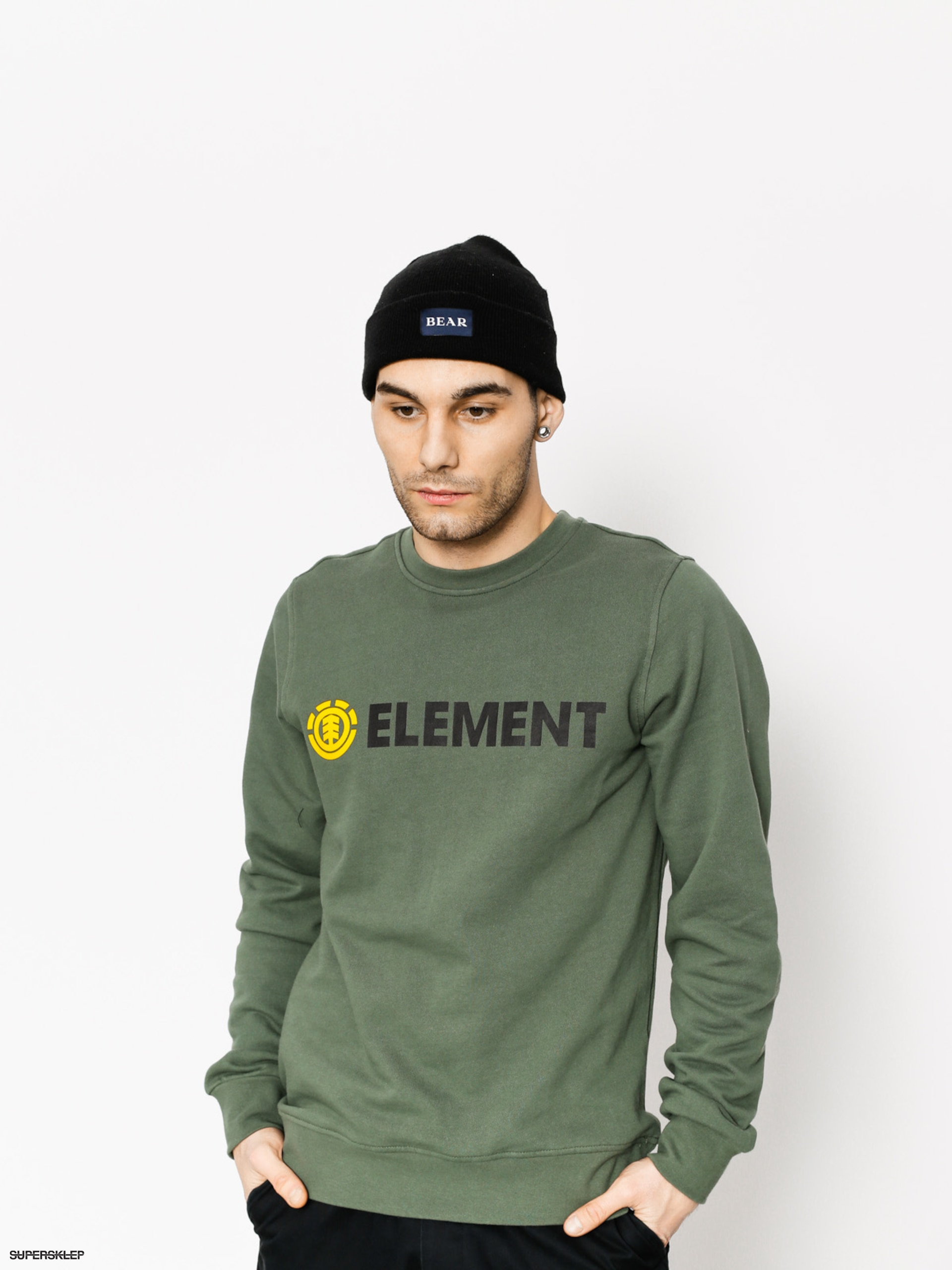 Bluza Element Blazin Crew (duck green)
