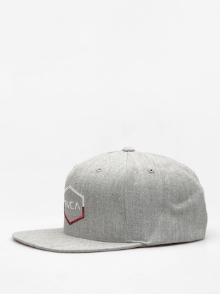Czapka z daszkiem RVCA Commonwealth III Snap ZD (heather grey)