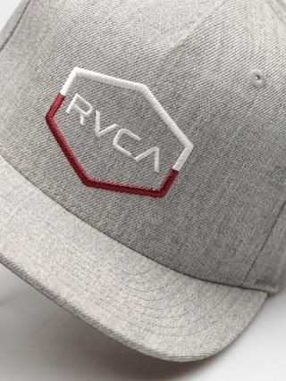 Czapka z daszkiem RVCA Commonwealth III Snap ZD (heather grey)