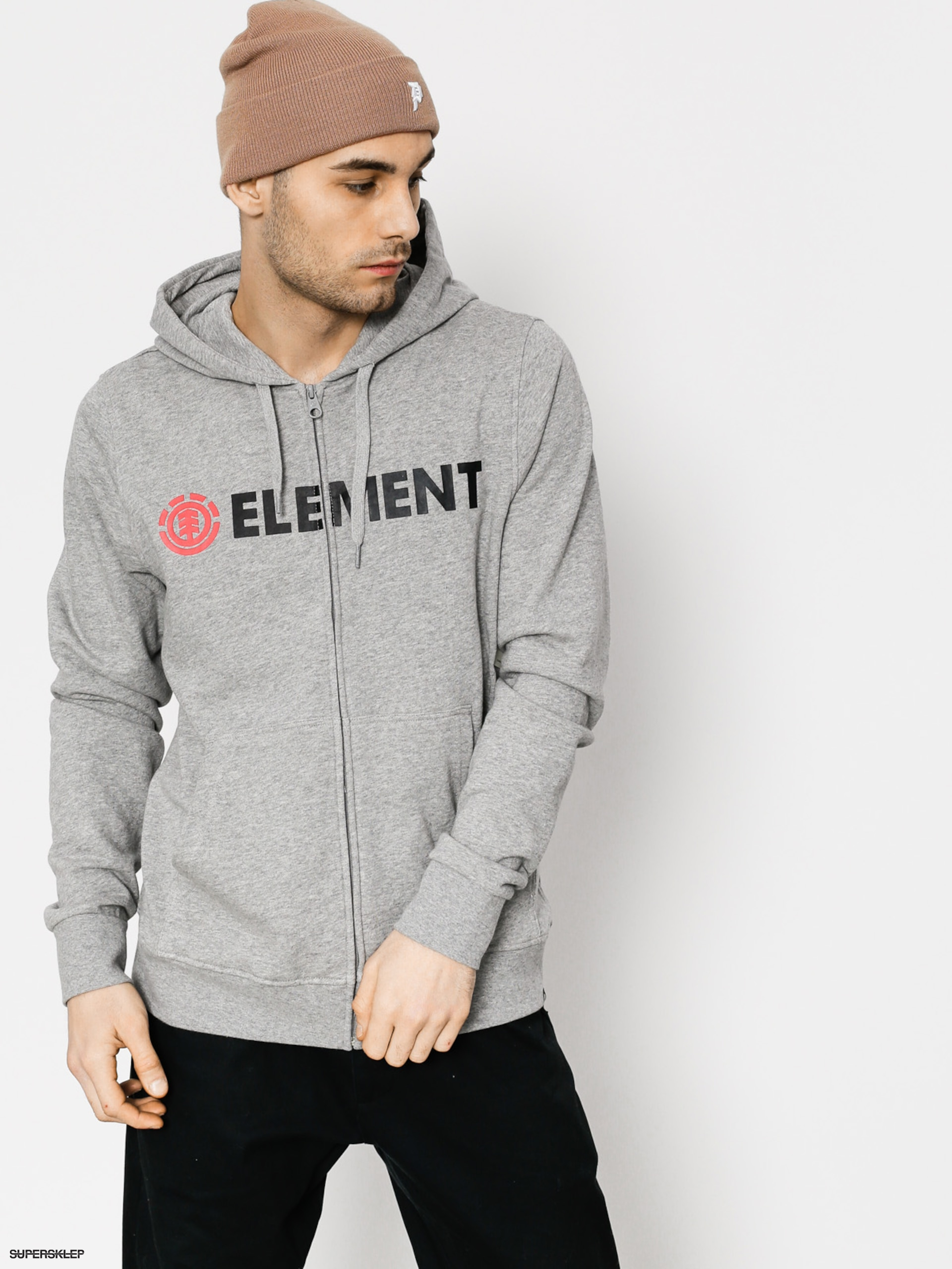 Bluza Element Blazin ZHD (grey heather)