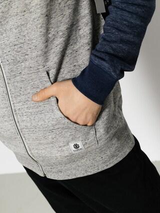 Bluza z kapturem Element Meridian Block ZHD (grey heather)