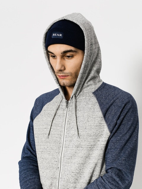 Bluza z kapturem Element Meridian Block ZHD (grey heather)
