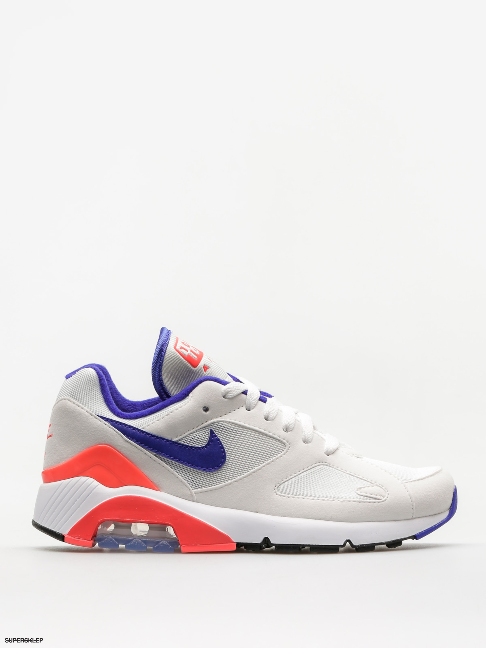 Buty Nike Air Max 180 Wmn (whiteultramarine solar red black)