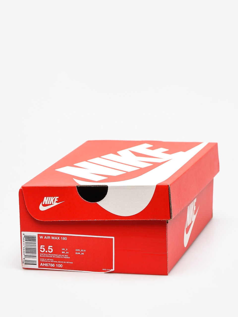 Buty Nike Air Max 180 Wmn (whiteultramarine solar red black)