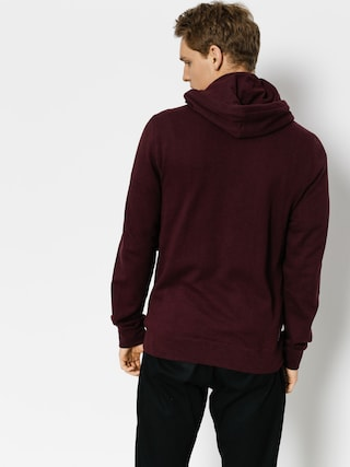 Bluza z kapturem Element Cornell Overdye ZHD (napa red)