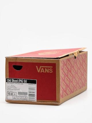 Buty Vans Old Skool (pig/suede/parisian/night/blanc/de/blanc)