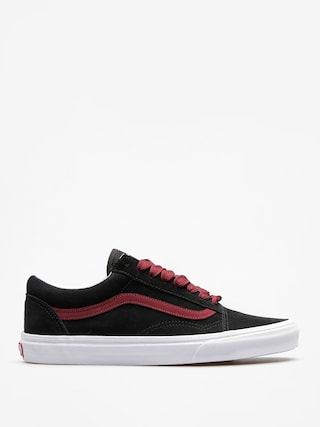Buty Vans Old Skool (oversized/lace/black/port/royale)